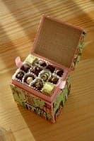Ένα σοκολατένιο δώρο είναι γλυκό αλλά οικονομικό