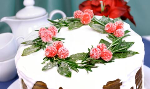Μια σπιτική βασιλόπιτα με υφή κέικ