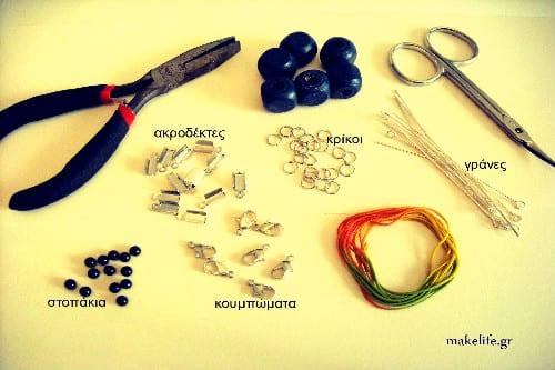 βασικά εργαλεία και εξαρτήματα