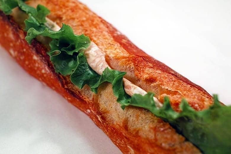 Γκουρμέ σάντουιτς με κοτόπουλο