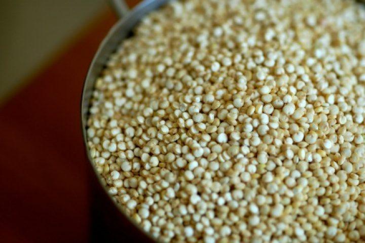 Κινόα ως βασικό υλικό σε ατομικά πιτσάκια