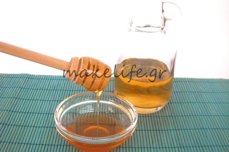 λοσιόν μελιού για άτονα και θαμπά μαλλιά