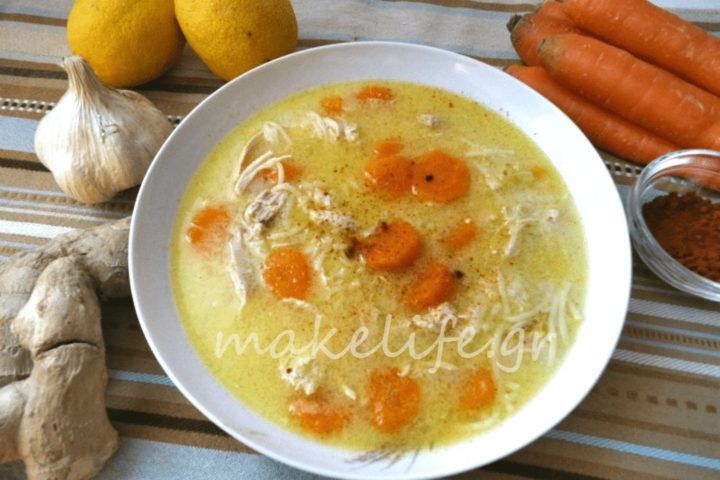 Μια θαυματουργή σούπα για το κρυολόγημα