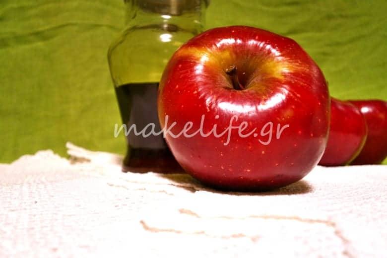 Μάσκα ομορφιάς με μήλο και μέλι