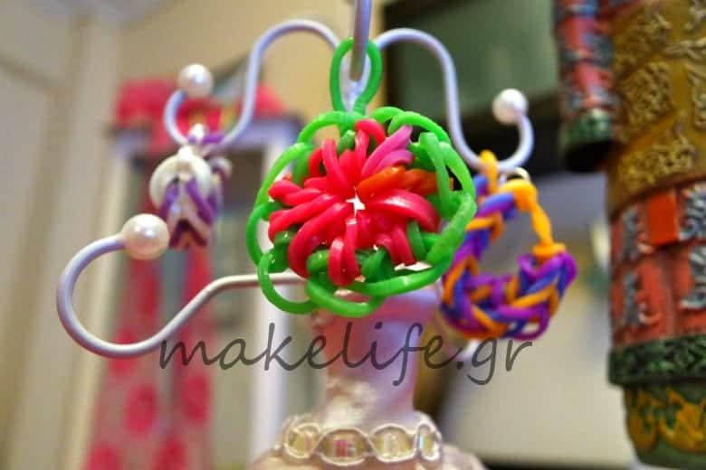 δαχτυλίδια και λουλούδια με plexi flexi