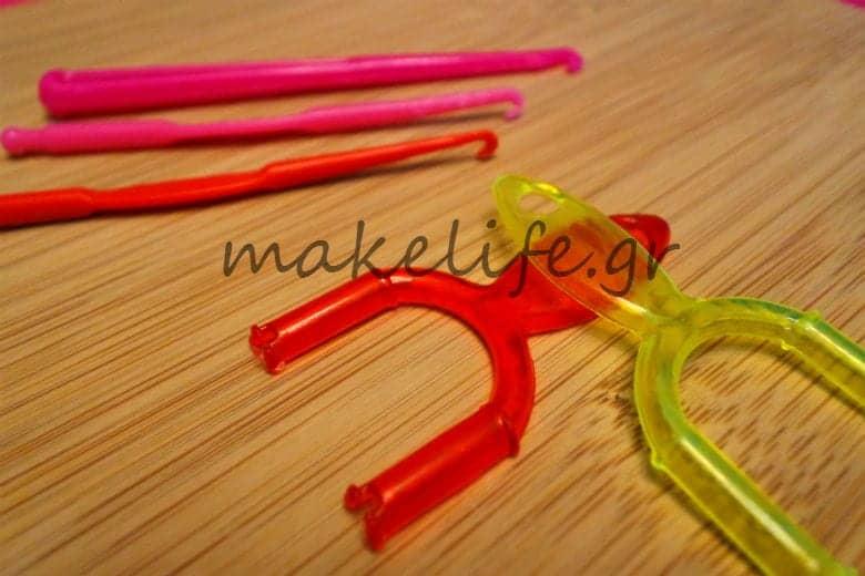 εργαλεία για βραχιολάκια plexi flexi