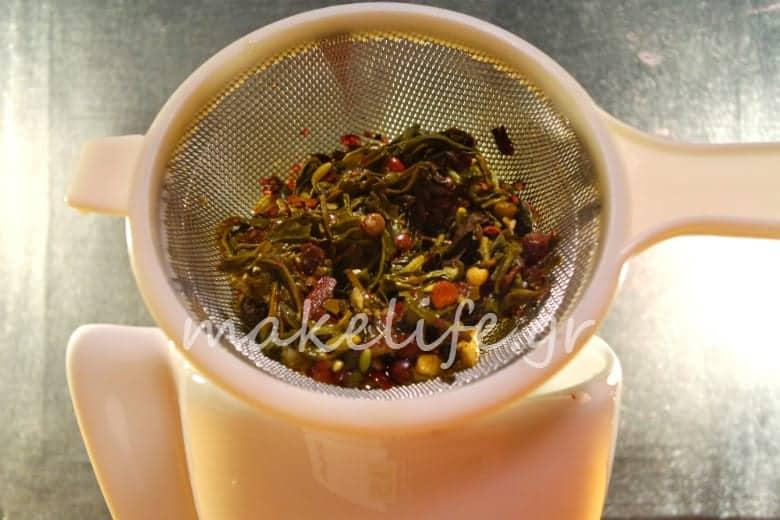 chai masala ρόφημα για το κρύο