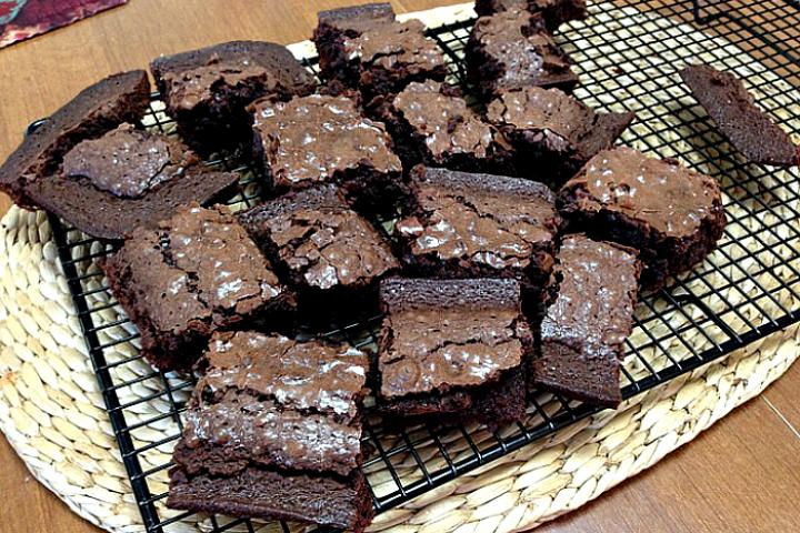 Brownie με ταχίνι, ένα νηστίσιμο γλυκό