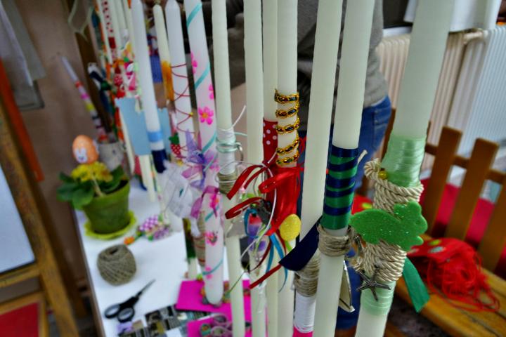 Ιδέες για πασχαλινές λαμπάδες με οικονομικά υλικά