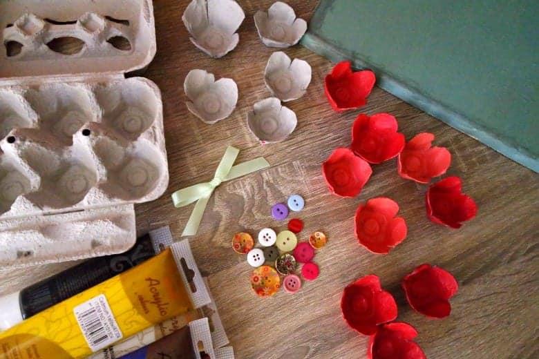 υλικά για το πρωτομαγιάτικο στεφάνι