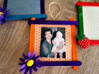 Φτιάξτε χειροποίητες κορνίζες για τη γιορτή της μητέρας