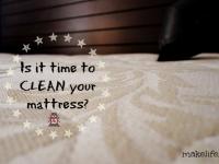 Μήπως ήρθε η ώρα να καθαρίσω το στρώμα του κρεβατιού;