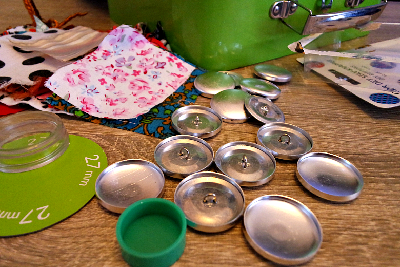 DIY κουμπάκια