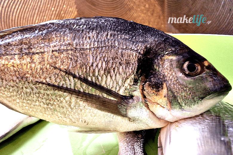 Μάθε να ξεχωρίζεις τα φρέσκα ψάρια