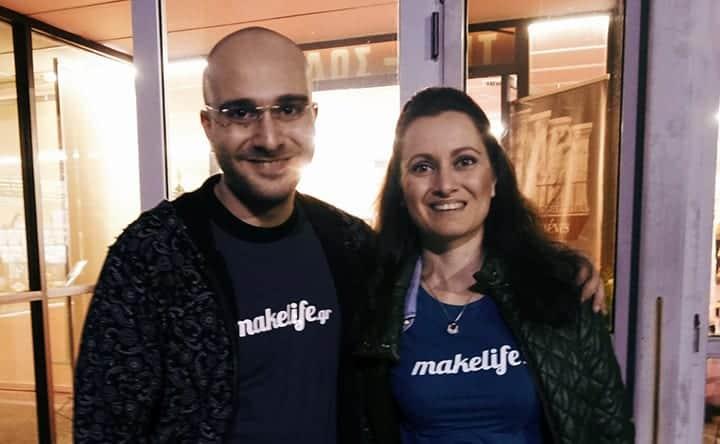 μπλουζάκια makelife.gr, δώρο της PSD