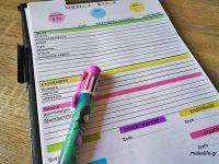 Λίστα για την οργάνωση των μηνιαίων εξόδων του σπιτιού