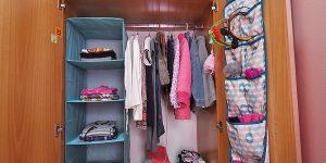 Πως να τακτοποιήσετε τα ρούχα των παιδιών στη ντουλάπα