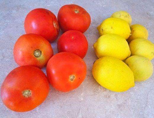 Πως θα φυλάξουμε λεμόνι και ντομάτα στην κατάψυξη