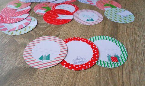 Εκτυπώσιμες ετικέτες για τα Χριστουγεννιάτικα δωράκια