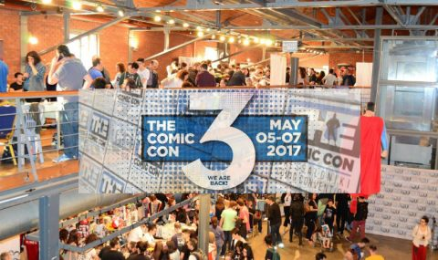 The Comic Convention 3 στη Θεσσαλονίκη, 5-7 Μαΐου