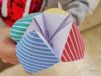 Χάρτινη Αλατιέρα. Ένα παιχνίδι Origami από τα παλιά