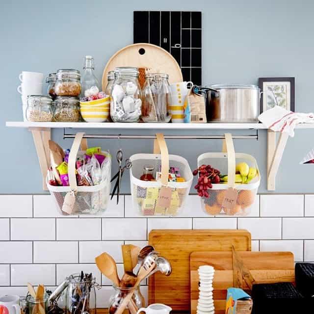 Καλάθια ΙΚΕΑ για την Οργάνωση της Κουζίνας