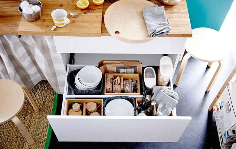 Οργάνωση Συρταριών Κουζίνας με Προϊόντα ΙΚΕΑ
