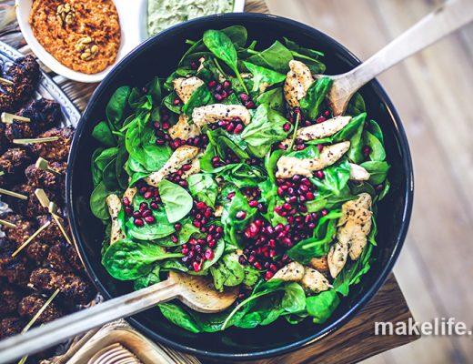 6 μυστικά και βήματα για την τέλεια πράσινη σαλάτα