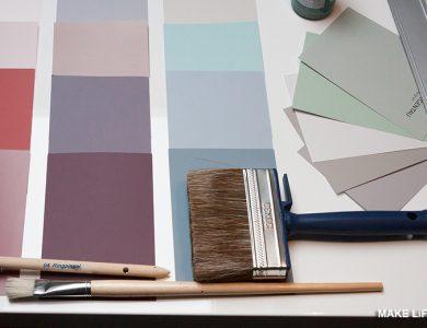 Τι χρώμα να βάψω τους τοίχους στο σαλόνι; 5 προτάσεις & ιδέες