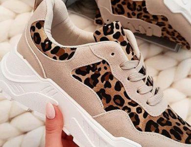 Γνωρίστε τα Animal Print Sneakers της Doca