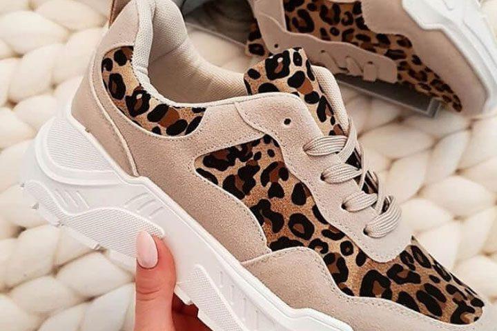 Γνωρίστε τα Animal Print Sneakers της Droca