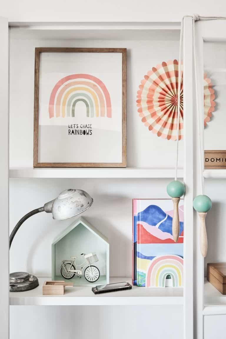 Ουράνιο Τόξο Διακόσμηση Παιδικού Δωματίου από τα H&M