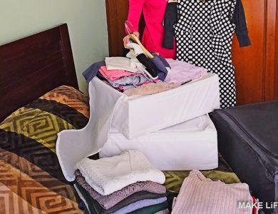 Πως μαζεύω τα χειμωνιάτικα ρούχα. Κάντο εύκολα σε 6 βήματα