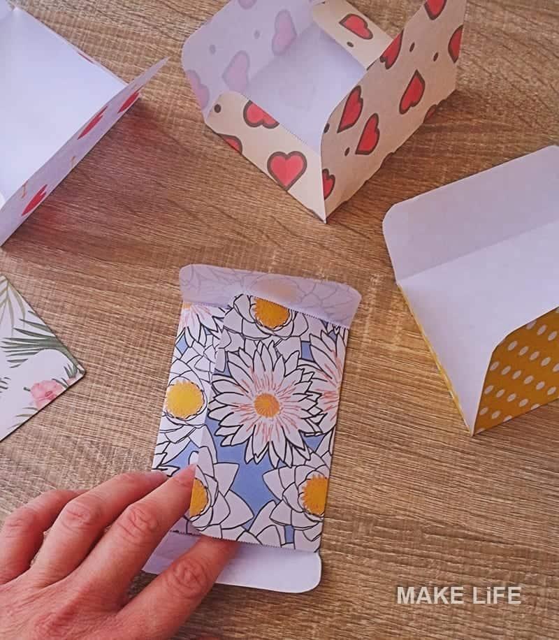 Μίνι φακελάκια tutorial