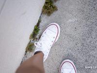 Πως θα κάνουμε λευκές τις σόλες των παπουτσιών που κιτρίνισαν