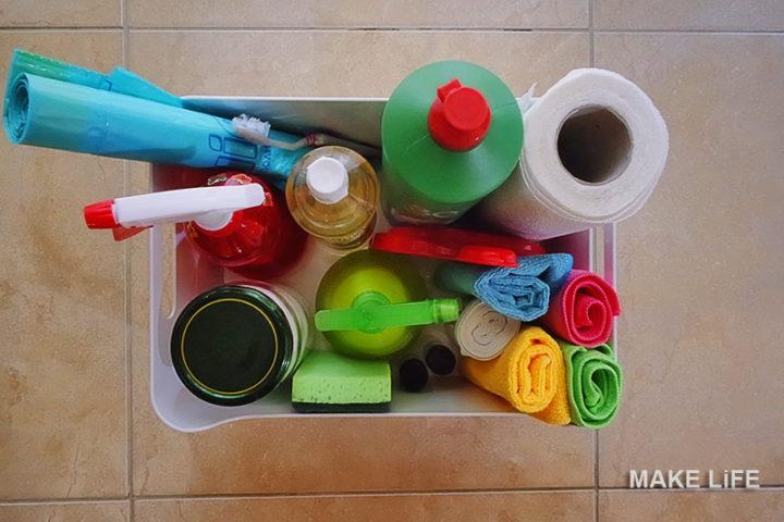 Τι έχω κάτω από το νεροχύτη της κουζίνας για ειδικές περιπτώσεις