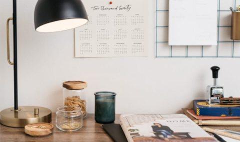 Πως να δημιουργήσεις έναν εμπνευσμένο χώρο γραφείου στο σπίτι