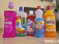 Καθαριστικό για σφουγγάρισμα: Τα 5 αγαπημένα μου προϊόντα