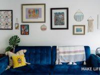 Διακόσμηση τοίχου πίσω από τον καναπέ. Όλες οι νέες τάσεις