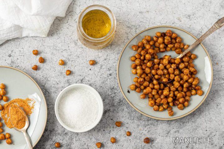 Πως φτιάχνουμε τραγανά και θρεπτικά ρεβίθια ψητά στο φούρνο